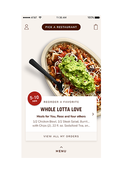 Chipotle Case Study Screen