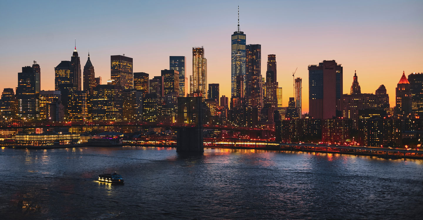 New York skyline photo