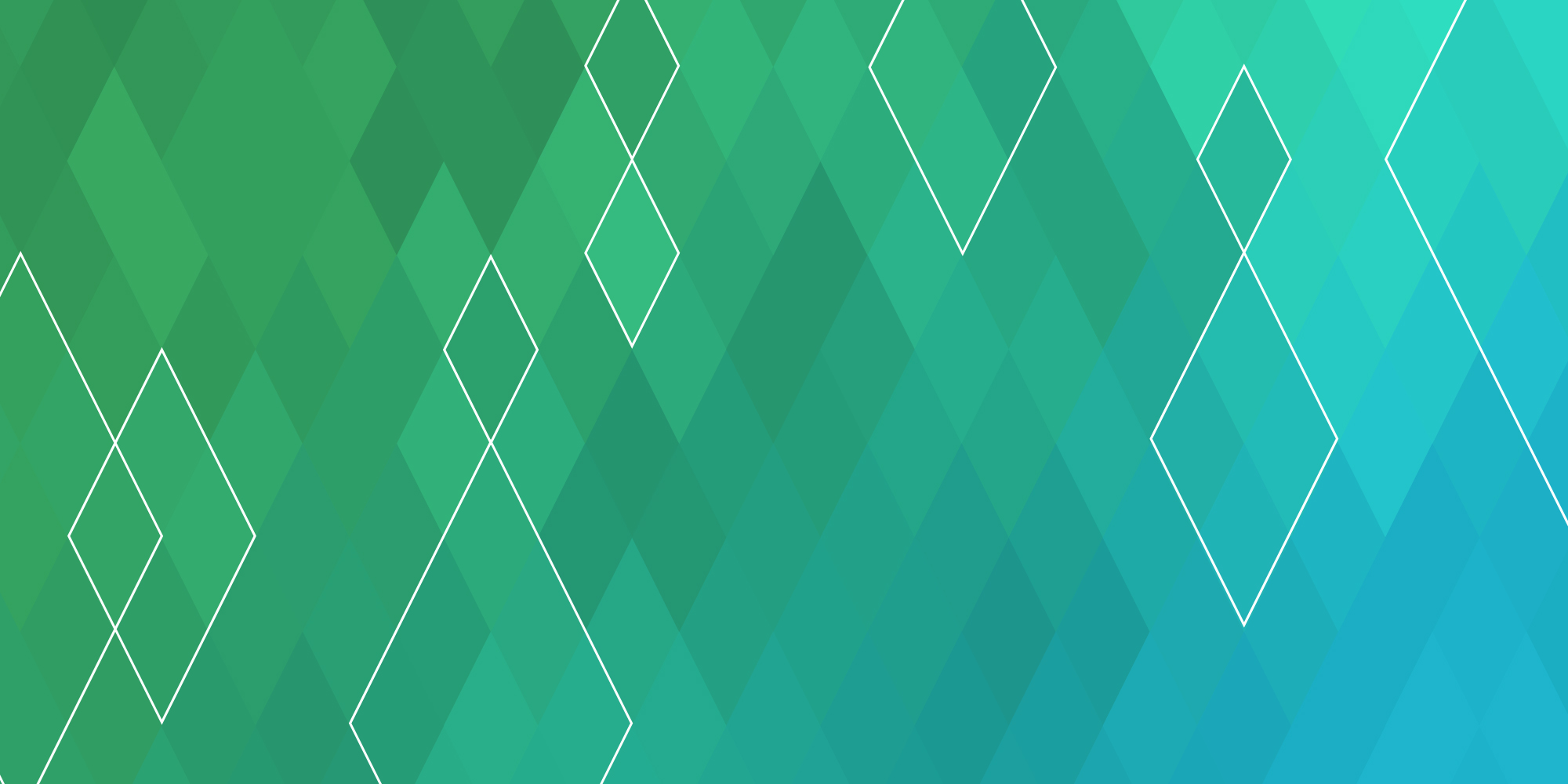 Green, teal, and blue gradient pattern