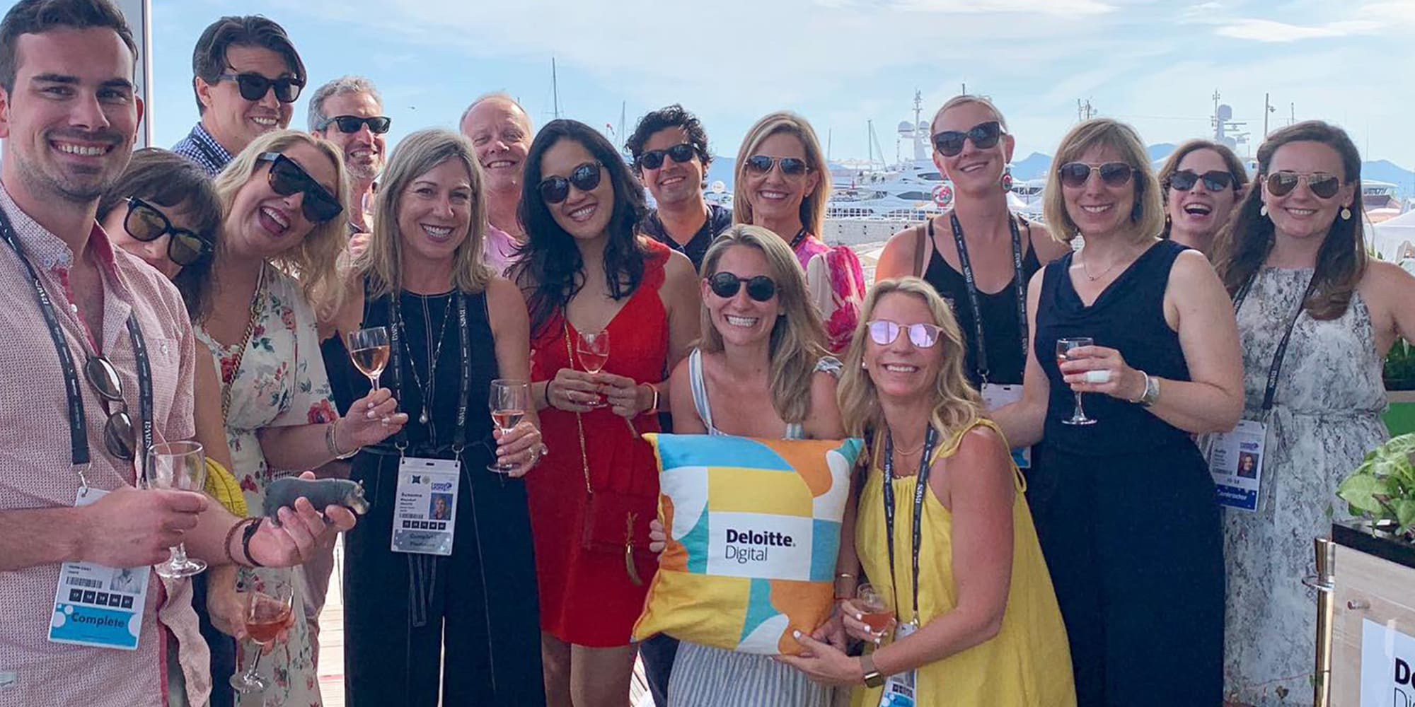 deloitte digital and heat agency at cannes lions
